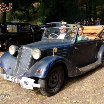 Slovenskou výpravu nádherných roadsterů Tatra 75 letos doplnila tato velmi původní pětasedmdesátka Martina Bindera, rovněž zVeteran Tatra Clubu Šenkvice