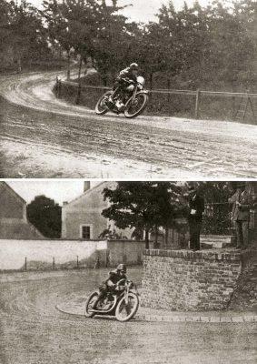 V roce 1926 pánové štábní kapitán Vladimír Kučka na Brough Superior (nahoře) a Bohumil Turek na motocyklu Walter (dole) v mrtvém závodě časem 2:26 překonali nejlepší časy všech motocyklů a získali tím společně peněžitou odměnu Kč 4000. Závod se jel 6. června a počasí nebylo nejlepší, tréninky probíhaly 2.–6.června. Dobové informace hovoří o bezvadném stavu silnice. Pořadatelé byli vybaveni pouze červenými vlajkami. Kývání vlajkou znamenalo bezpodmínečně stůj. Jiných signálů nebylo