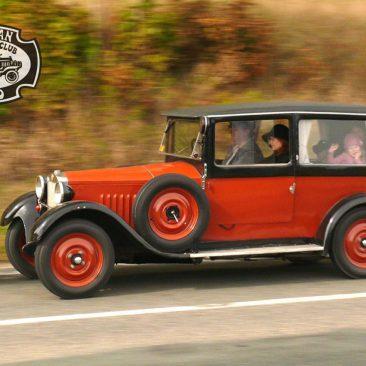 Z18 z roku 1928 rodiny Jiřího Hemzala. Automobil si koupili jako nový