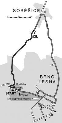 Trať Brno-Soběšice